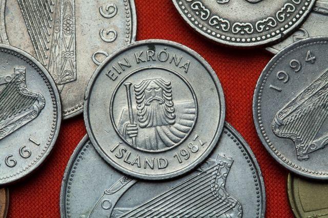 Исландская крона загод показала рекордный рост кдоллару иевро
