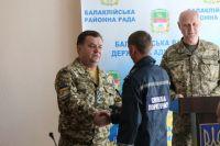 Полторак наградил участников ликвидации последствий взрывов в Балаклее