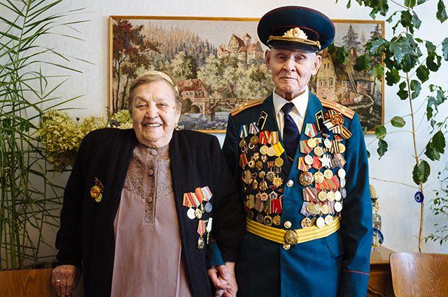 Амина и Фарах Хайрутдиновы 70 лет вместе.