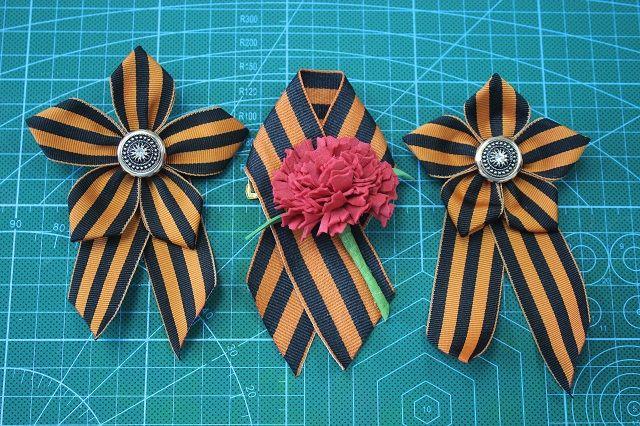 Стильное украшение ко Дню Победы.