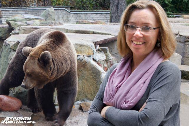 Директор зоопарка Светлана Соколова проведет экскурсию для посетителей.