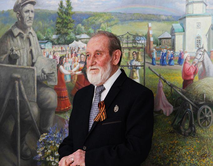 Человек в пейзаже - на фоне родины Аркадия Пластова