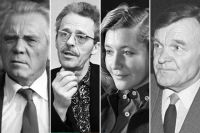 Виктор Астафьев, Борис Васильев, Юлия Друнина, Юрий Бондарев.