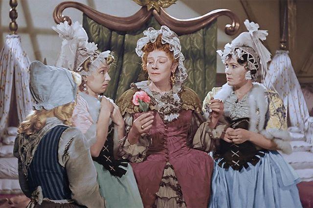 Кадр из фильма «Золушка», 1947 год.