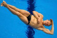 Илье Захарову не оказалось равных в прыжках с трехметрового трамплина.