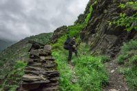 За хорошим кадром нужно лезть в гору.