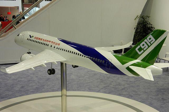 Крупнейший китайский авиалайнер совершил первый полет