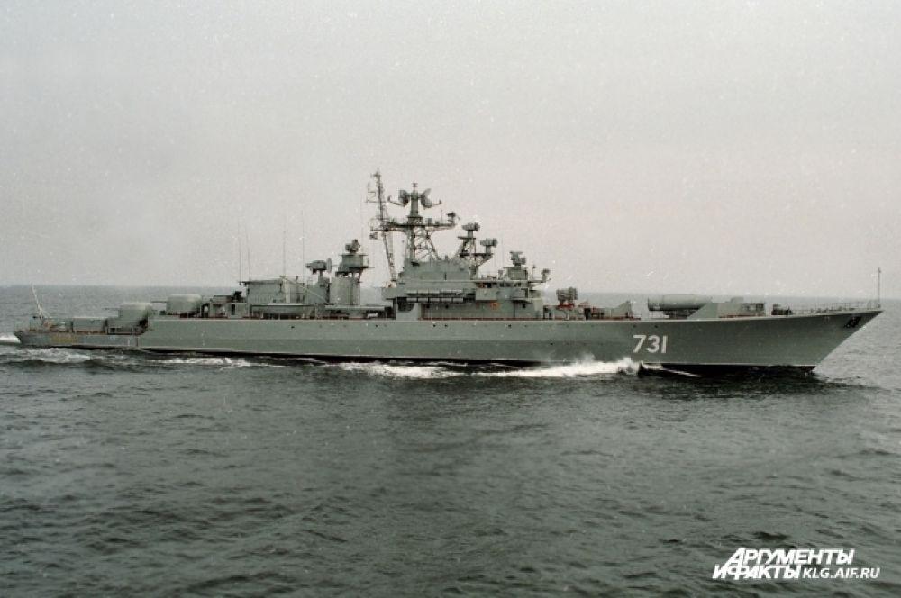 «Неукротимый» был заложен 22 января 1976 года на судостроительном заводе «Янтарь» в Калининграде, спущен на воду 7 сентября 1977 года, вошел в состав флота 17 февраля 1978 года. Выведен из состава боевых кораблей 29 июня 2009 года.