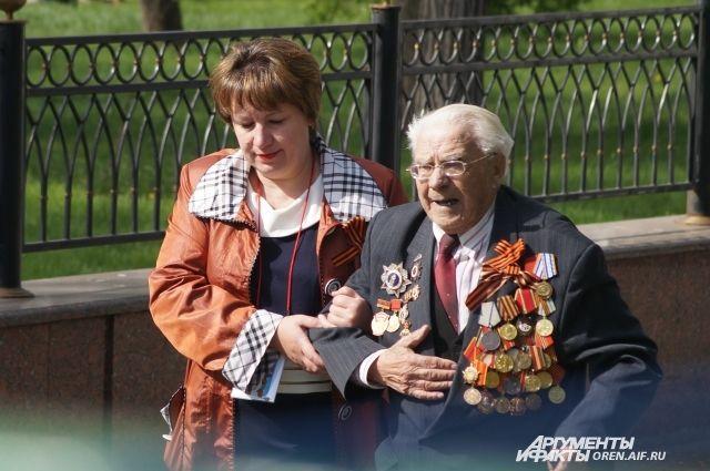 Сегодня ветеранам нужна и важна поддержка тех, ради кого они воевали.