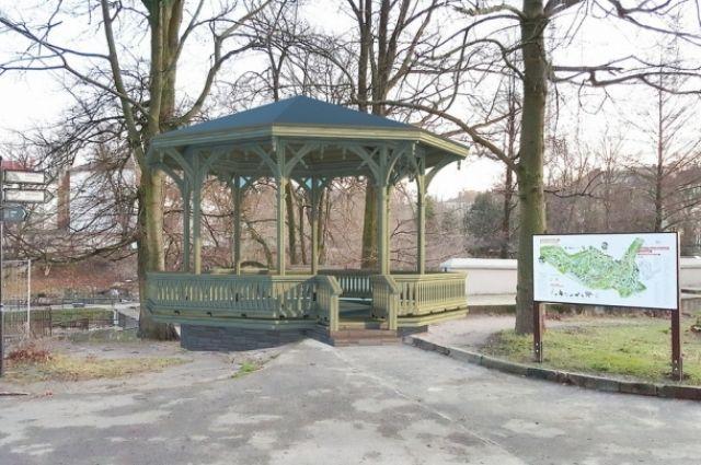 Калининградский зоопарк получит более миллиона рублей на восстановление исторического «Читального павильона».