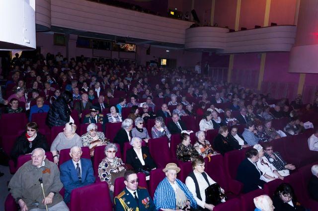 На мероприятие были приглашены 450 ветеранов