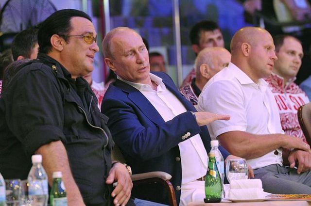 Стивену Сигалу запретили заезд вУкраинское государство