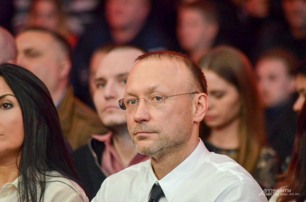 Владелец «Русской медной компании», организатора вечера, Игорь Алтушкин.