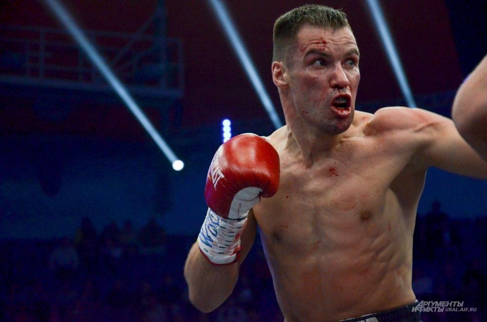 Литовский боксер Вирджилиус Стапулионис.