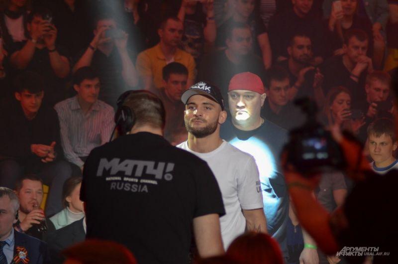 Екатеринбургский боксер Магомед Курбанов.