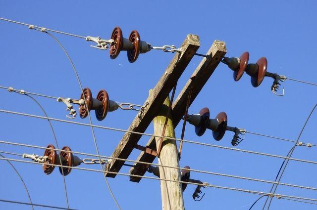 В 9-ти районах Приморье нарушено электроснабжение из-за сильного ветра