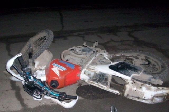 26-летний шофёр мотоцикла Yamaha умер вДТП под Воронежем