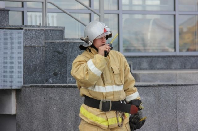 ВНижегородской области вспыхнул пожар площадью 330 квадратных метров