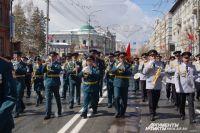 В Красноярске прошёл парад в честь 72-ой годовщины Победы.