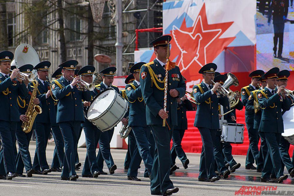 Пермский губернский военный оркестр.