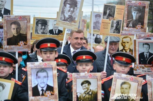 В северной столице завершилось шествие «Бессмертного полка»