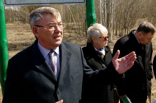 Юрий Тюрин встретился с жителями Устиновского района и представителями общественности на территории Ярушкинского парка.