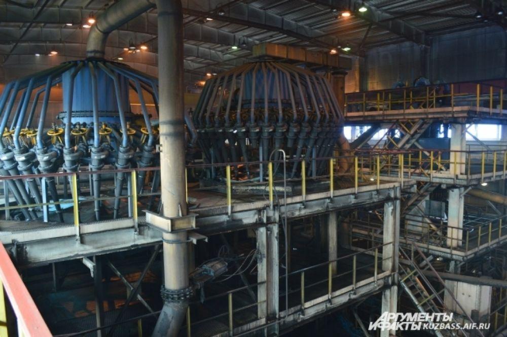 Фабрика «Черниговская-Коксовая» расположилась недалеко от разреза «Черниговский», что в районе г. Берёзовского.
