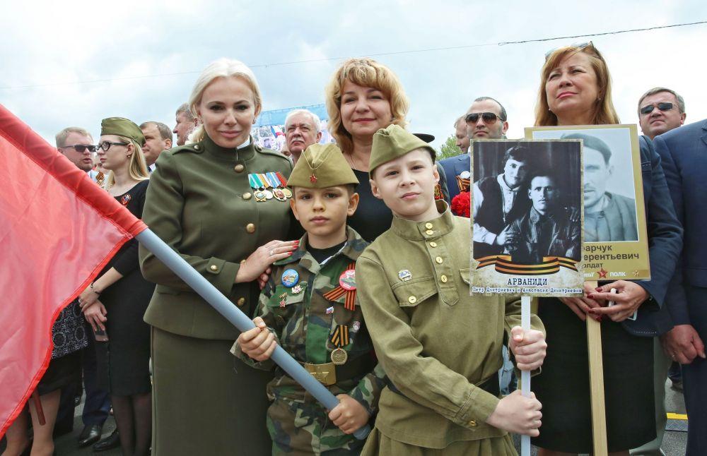 Торжественное шествие «Бессмертного полка».