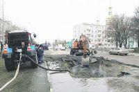 Только в период отопительного сезона на участке тепломагистрали по улице С. Разина произошло 3 порыва.