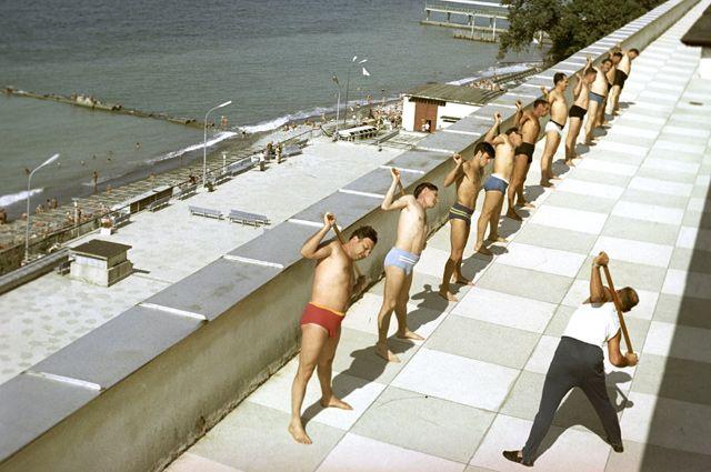 В советских здравницах отдыхающие чувствовали себя как в раю.