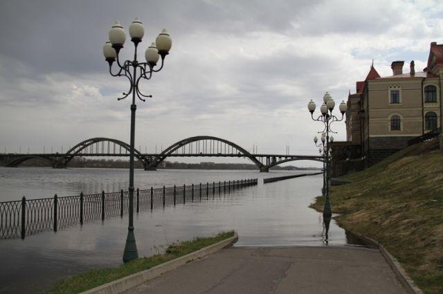 Старожилы уверяют, что подобной картины в Рыбинске не видели с 1960 года.
