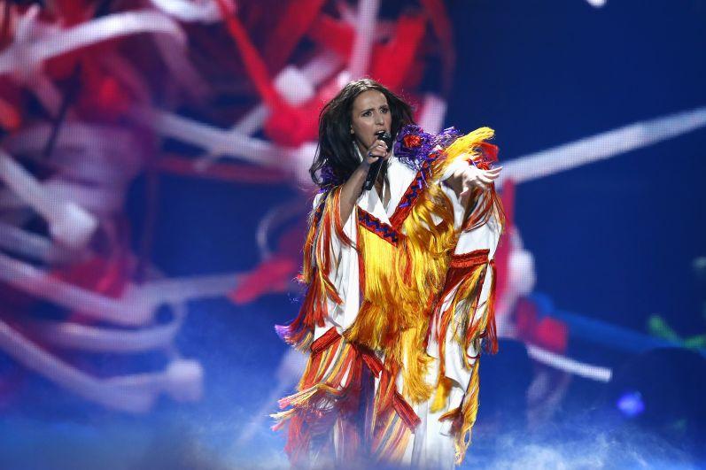 Джамала также выступила на полуфинале
