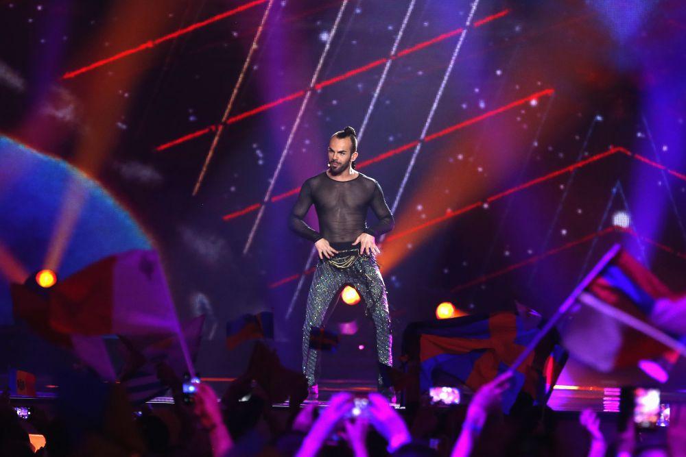 Эпатажному представителю Черногории не удалось пройти в финал конкурса