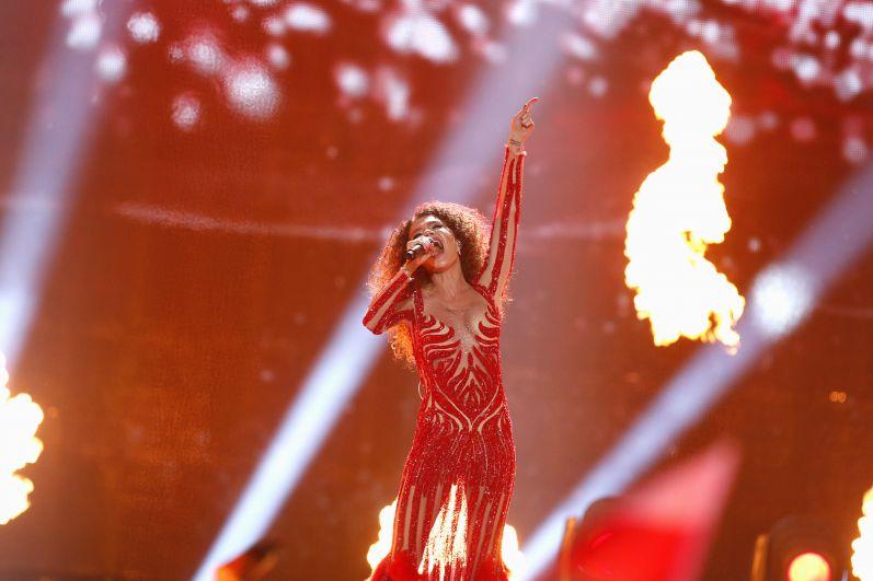 Участница от Грузии не прошла в финал