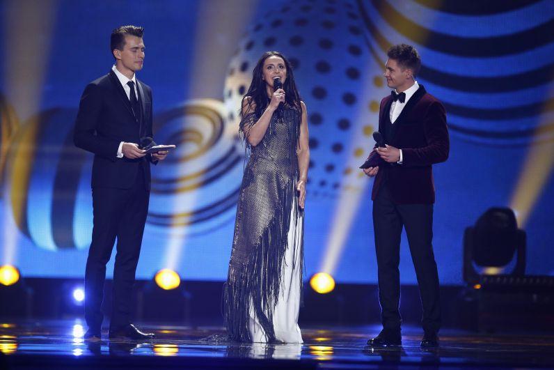 Победительница Евровидения-2016 Джамала
