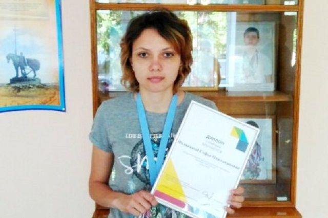 Софья Федякина была награждена медалью и дипломом I степени за победу в компетенции «Фотография».