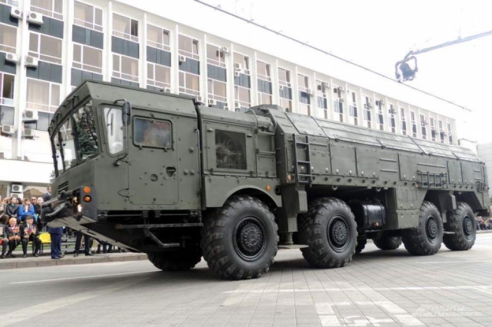 Знаменитый оперативно-тактический ракетный комплекс «Искандер».