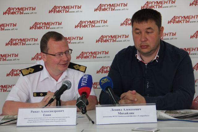 Ринат Енин и Алексей Михайлик.