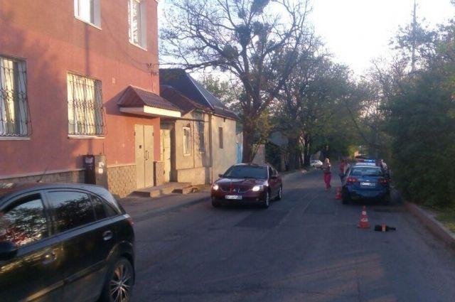 ВСтаврополе шофёр  сбил пятилетнего ребенка