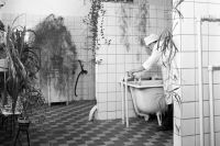 Районная поликлиника № 62. Кабинет водолечения. 1977 год.