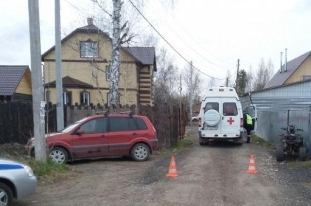 ВПерми 15-летний подросток наквадроцикле сбил 2-летнего ребенка