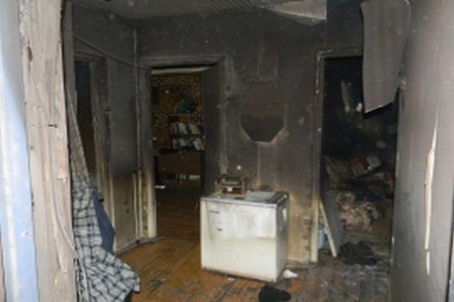 Пожар впятиэтажном доме вНовомичуринске, спасён человек