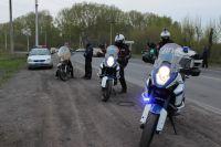 В Кузбассе к дорожному патрулированию приступил мотопатруль.