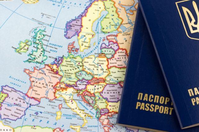 В Евросоюзе утвердили безвизовый режим для Украины