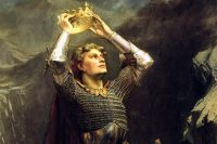 Король Артур. Чарльз Эрнест Батлер, 1903 г., фрагмент картины.