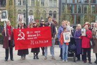 Ямальские копии знамени Победы отправлены в Норвегию и Киргизию.