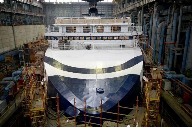 Исследовательское судно «Академик Александров» передадут ВМФРФ в следующем году