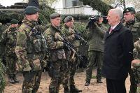 Министр обороны США Джеймс Мэттис в Литве.