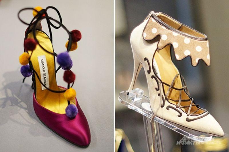 Туфли «Маноло Бланик» были названы «пятой звездой» сериала «Секс в большом городе».