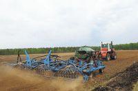 Зерновыми и зернобобовыми уже засеяны 187 тысяч га, - это 18 % от плана.